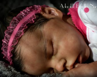 Biracial Reborn Baby Girl Jilessa ~ Twin A by Bonnie Brown- SOLD