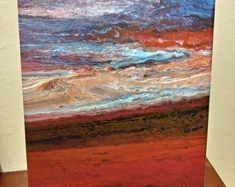 Element acrylic painting