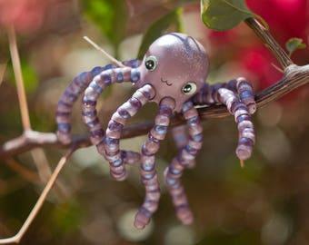 Cute baby octopus (Galaxy violet)