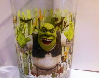"McDonald's ""Shrek"" Recalled Glass"