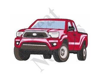 Pickup Truck - Machine Embroidery Design