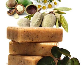 Raw Macadamia Almond Soap Bar