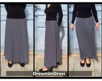 Quarter-wheel Jersey skirt