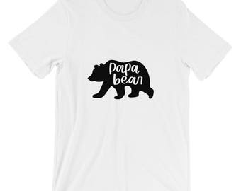 PAPA BEAR// Printed directly to garment t-shirt
