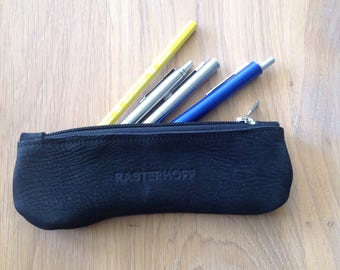 Leather Sheath-leather pencil case