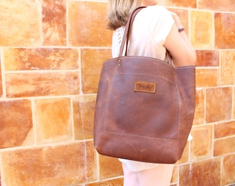 Leather Shoulder Bag, Leather Tote, Leather Totes, Leather Tote Bag, Leather Tote Bags, Brown Tote Bags, Brown Leather Tote
