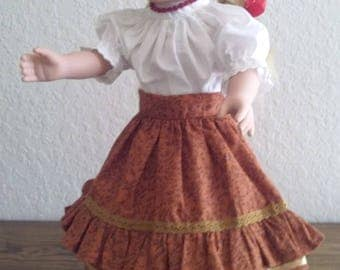 18 Inches Doll Clothing- Hungarian Folk Dance Dresses- It suits American Girl doll
