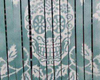 Folding wooden sugar skull Vanity chair