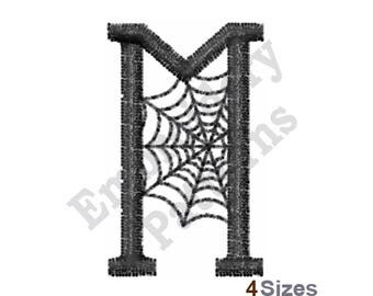 Spider Web M - Machine Embroidery Design