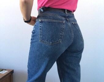 Vintage High Waisted Blue Jeans