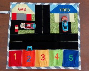 Fold and Go Car Play Mat