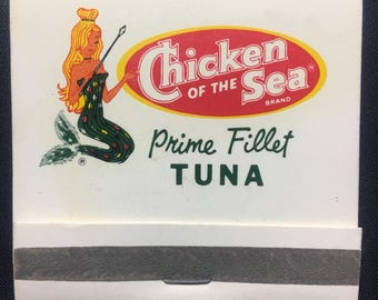1960s Chicken of the Sea Matchbook
