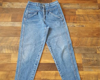 90's High Waist Jeans Skinny Tapered Leg Mom Jeans, Lizwear Jeans// Women's Size 30 10 12