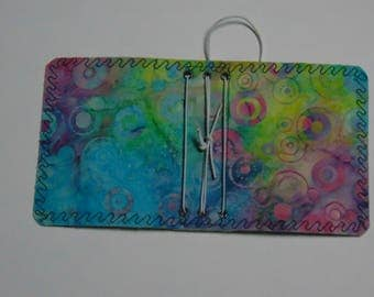 Bubble Batik Micro Traveler's Notebook Cover