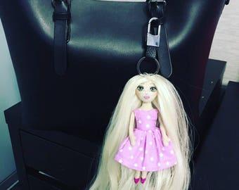 Keychain on the bag
