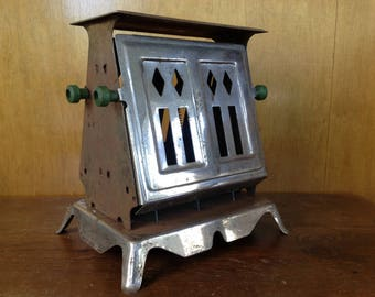 Vintage Made-Rite Art Deco Toaster