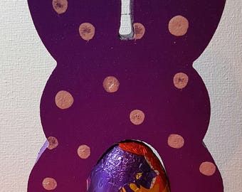 Easter Egg Holders - Bunnies - Various Colours and Designs available