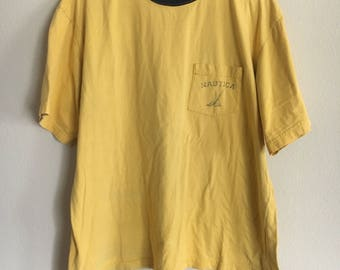 Yellow Nautica T-shirts