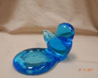 LEO WARD Bluebird of Hapiness Candle Holder
