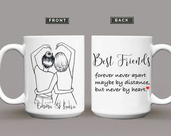 Soul Sister Mug, Best Friend Mug Personalized Best Friend Gift, Sister Mug, Sister Gift, Best Friend Mugs, Coffee Mug, Best Friends