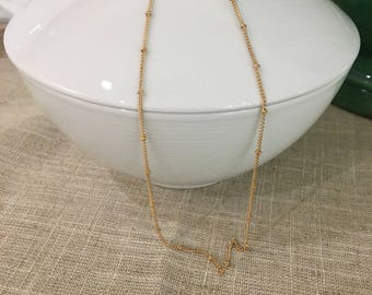 Gold Filled Satellite Layering Chain
