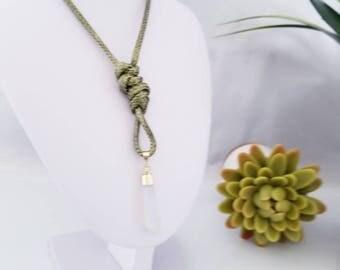 Pendulum Opalite Necklace / Pendulum Opalite Necklace Gift Mother / Woman Pendulum Necklace / Gif For Her Pendulum / Birthday Gift  Pendulum