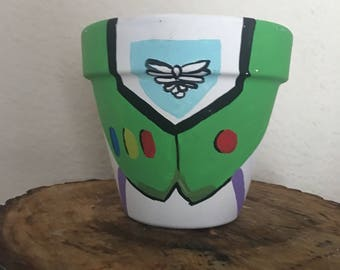 Toy story buzz lightyear centerpiece pot