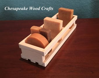 Soap Box, Salve Display, Soap Display, Wood Display Box, Soap Display Crate, Soap Crate, Display Crate
