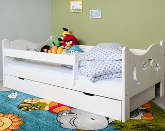 Cot Chrisi 140x70cm incl. mattress and drawer