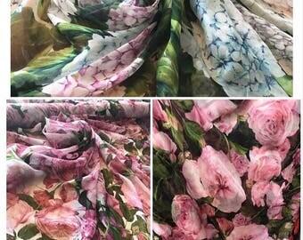 Dolce&Gabbana silk fabric shiffon