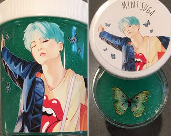Mint Suga (BTS Slime)