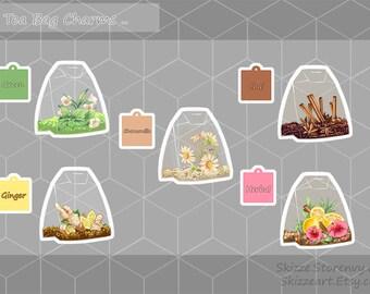Tea Bag Charms Series 1