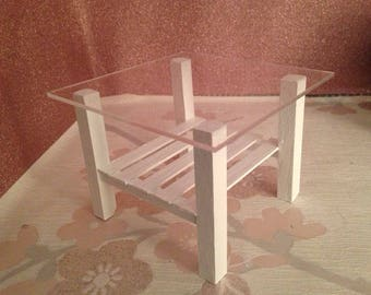 barbie 1/6 scale coffee /side table for dolls..more colours!!!.