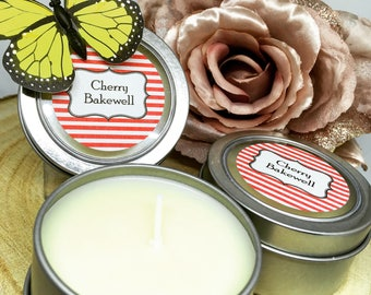 2oz Cherry Bakewell Cake Candles