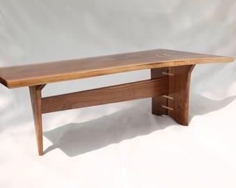 Walnut Coffee Table | Etsy