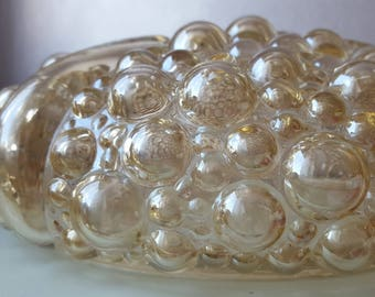 Vintage ceiling lamp Helena Tynell for Glashutte Limburg years 60