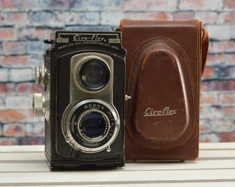 Vintage Ciro Flex C 6x6 TLR film camera