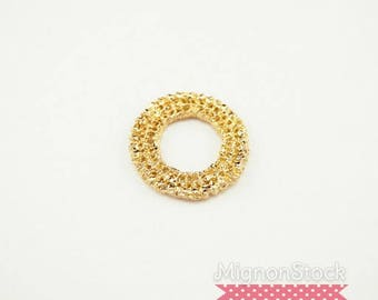 Lace - pewter, gold - pendants