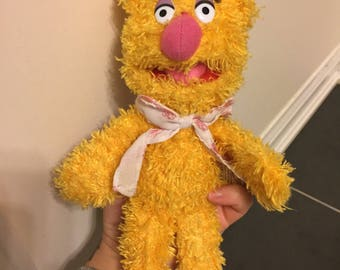 The muppets fozzie bear plush toy