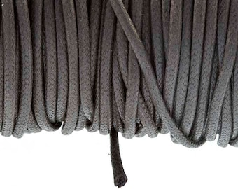 2.7 mm tobacco waxed cotton cord
