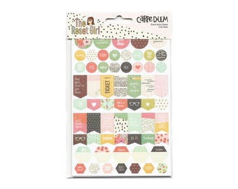 Stickers for Planners and Scrapbooking, Carpe Diem Brand