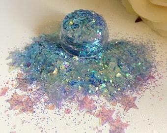Mermaid chunky glitter mix