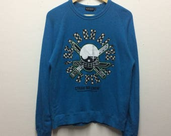 Rare!!! Blue cross sweatshirt