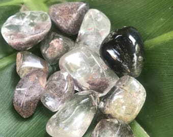 Large Tumbled Lodolite Crystals For Meditation Crystals For Dreams Shamans Stone Shaman Dream Stone Garden Quartz Scenic Quartz Crystal