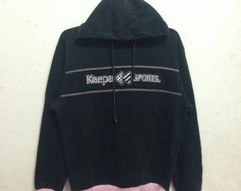 Vintage 90's Kaepa Sport Hoodies Sweatshirts Size L