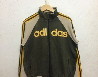 Vintage 90's Adidas Zipper Sweatshirts Size M