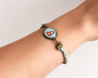 Little Red Riding Hood bracelet