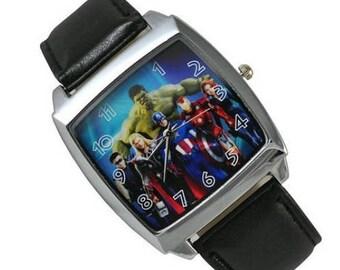 Marvel Watch The Avengers Super Heroes (Iron Man, Hulk, Captain America, Thor)