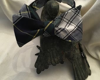 Dress Gordon Plaid Bow Tie