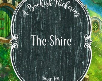 The Shire - Lord of the Rings - The Hobbit - Bookish Inspired Tea - Green Tea